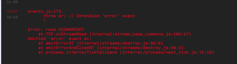 Expo server crashes often  · Issue #519 · expo/expo-cli · GitHub
