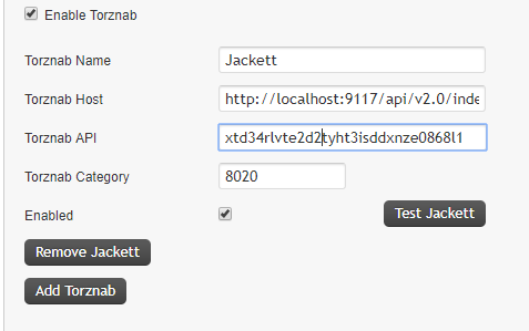 Jackett not working  jquery errors in console? Nothing in