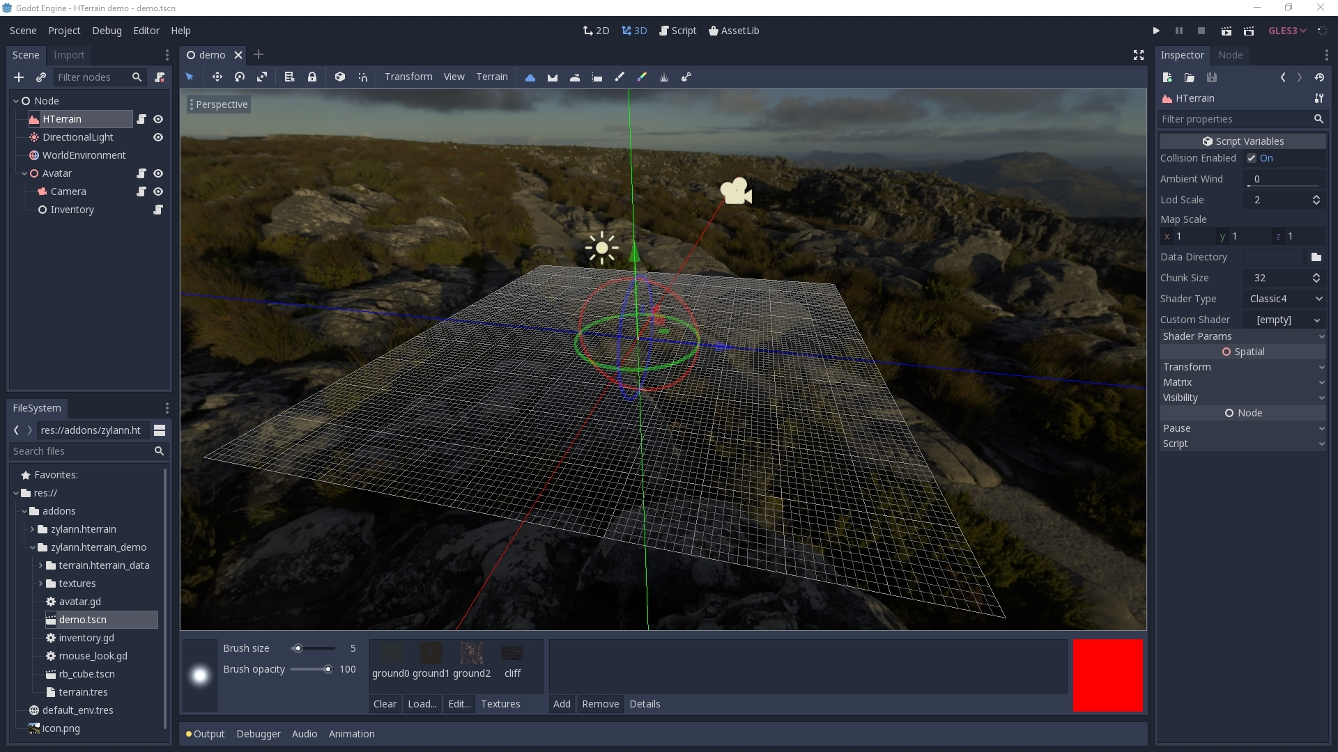 godot_heightmap_native_plugin - Bountysource