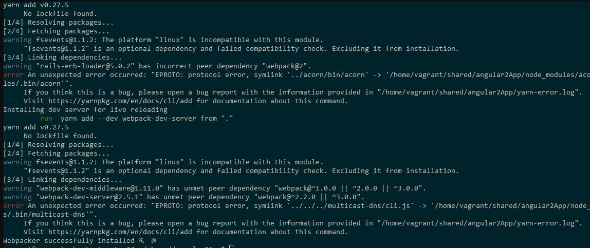 Problems With Yarn Symlinks Bin Links Under Windows Host With