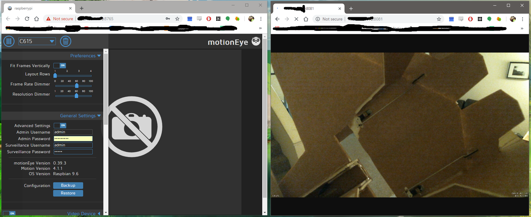USB camera not displaying image · Issue #1142 · ccrisan/motioneye