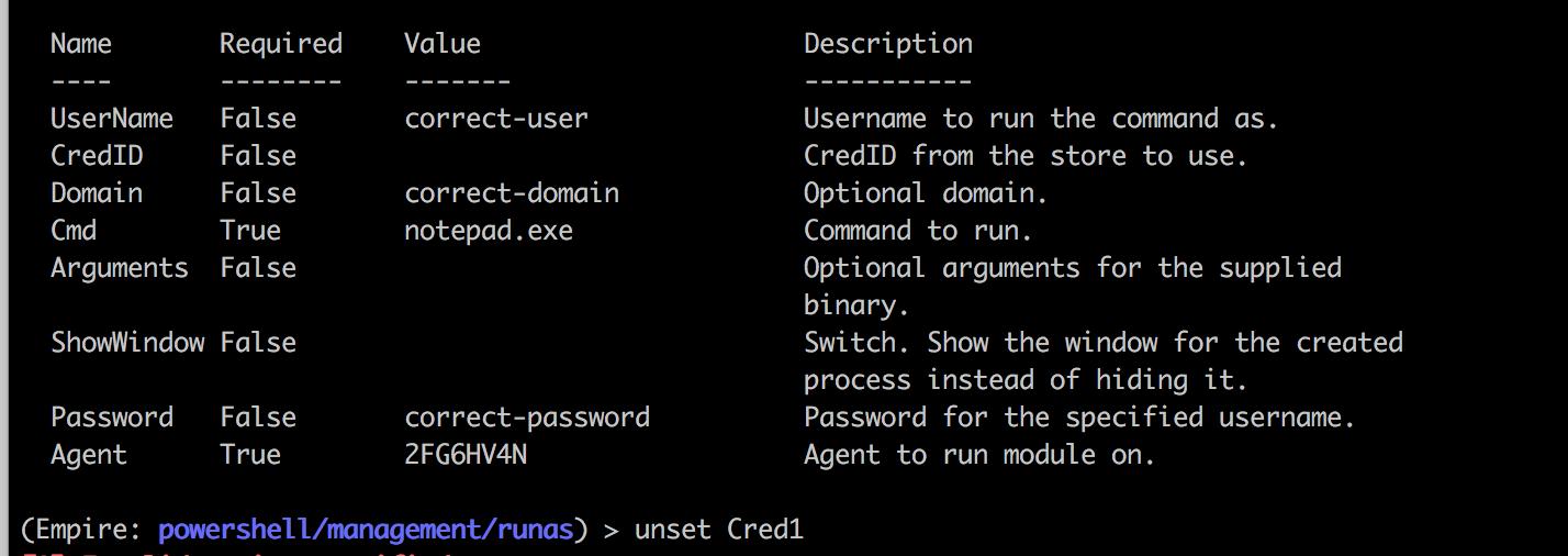 Empire runas module throws Access Denied error · Issue #1184