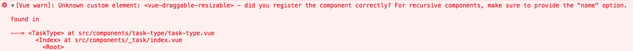 did you register the component correctly? · Issue #120 · mauricius