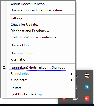 Unable to docker login through CLI - unauthorized: incorrect