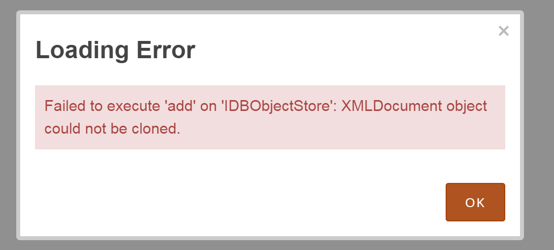 A Form pulling from an External CSV does not open as Offline
