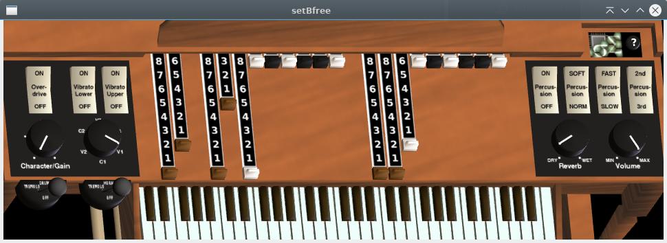 setBfree synth