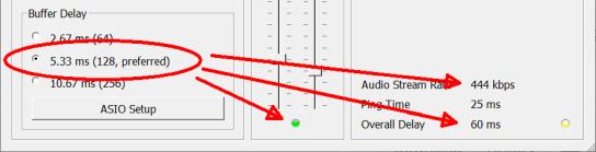 Buffer delay dependencies