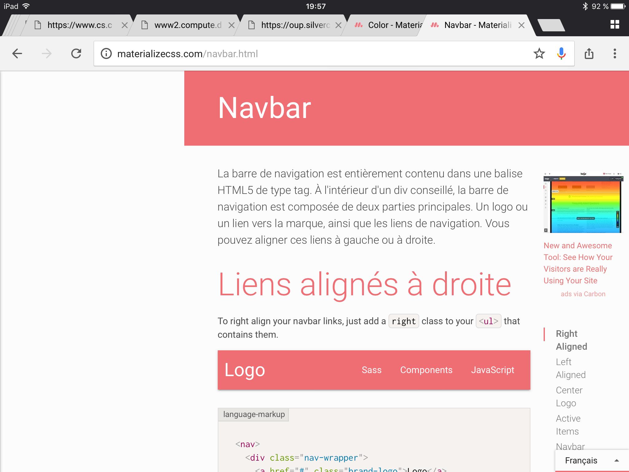 Sidenav is hidden on orientation change to landscape on iPad · Issue