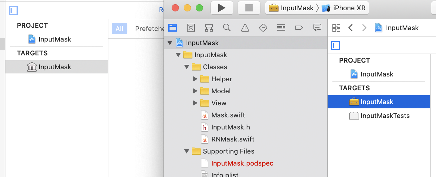 IOS Project is not a library project · Issue #84 · react