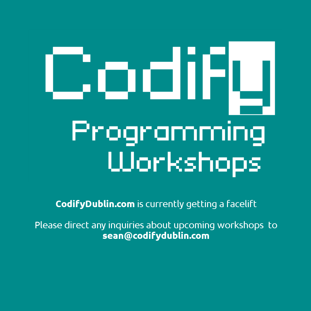 Codify update coming soon!
