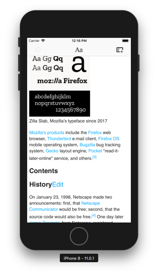 Mobile Wikipedia site is broken · Issue #436 · mozilla/readability