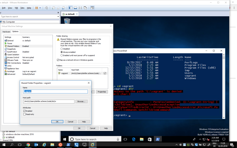 VMware Desktop Plugin in WSL (maybe some useful info