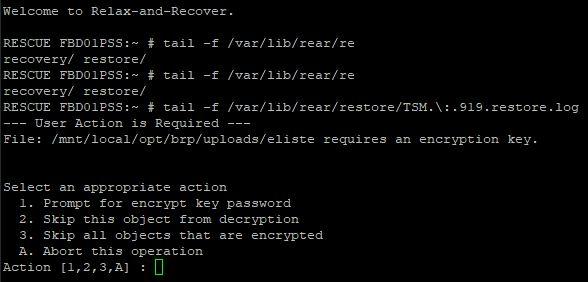ERROR: 'dsmc query filespace' failed · Issue #2061 · rear