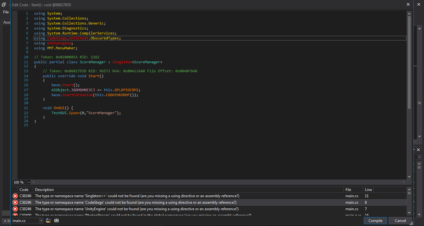 I can not edit the method in the latest version 4 5 2 · Issue #707