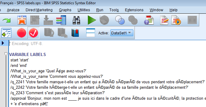 spss value label syntax