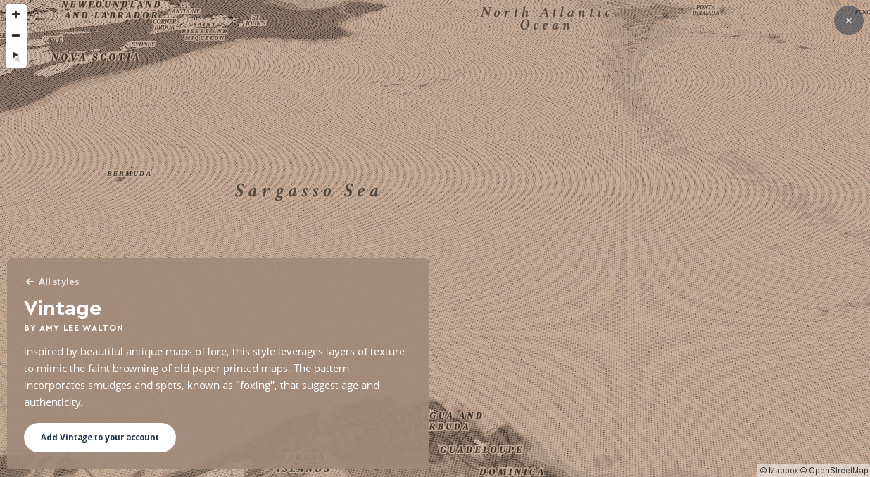 Distortion On Pitched Map With Fillpattern Issue Mapbox - Antique map box