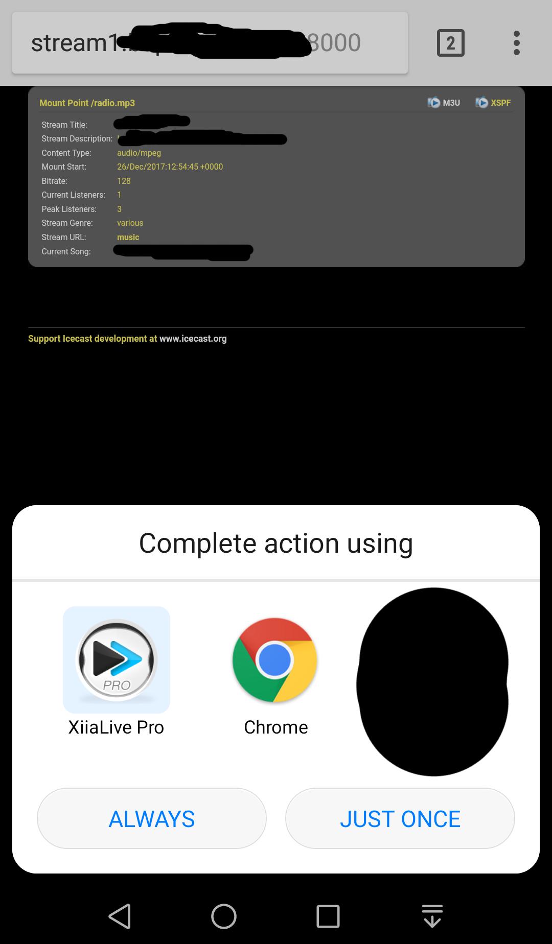 M3U and PLS file association as audio file instead of html file