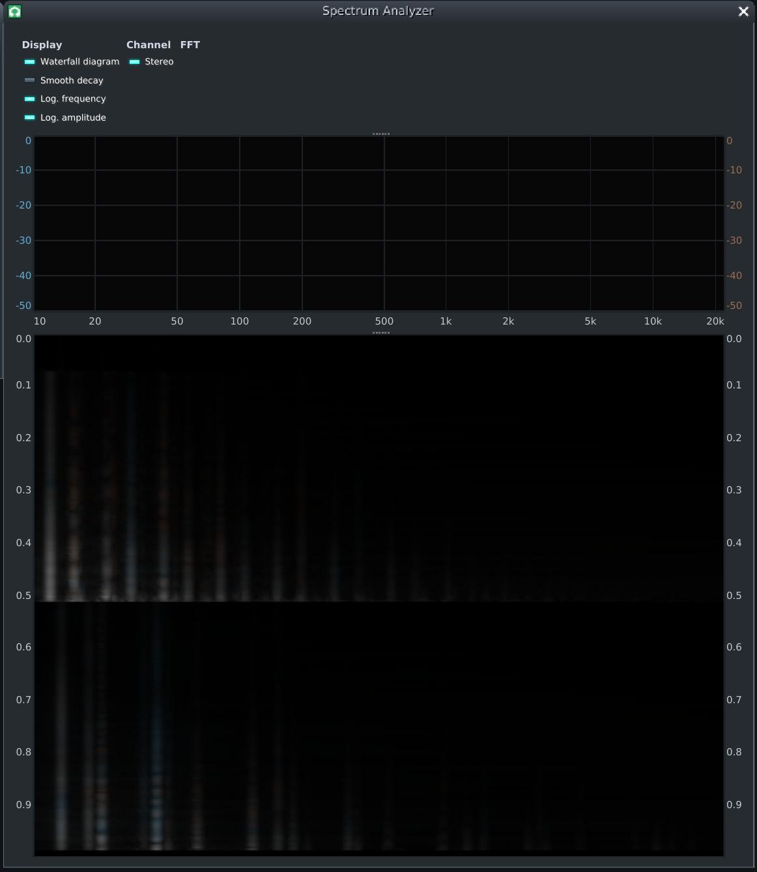 Make the Equalizer's analyzer the new Spectrum Analyzer