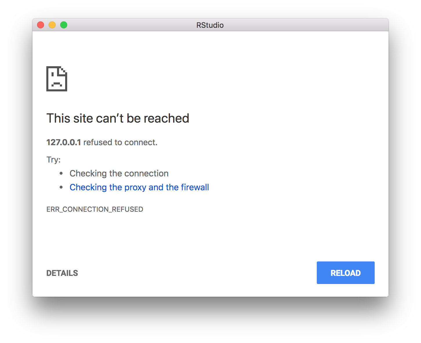 This site can't be reached · Issue #4520 · rstudio/rstudio