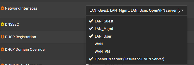 Unbound is not binded to OpenVPN interface · Issue #3342