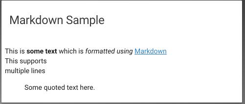 Lovelace: Entity Markdown card - Lovelace & Frontend - Home