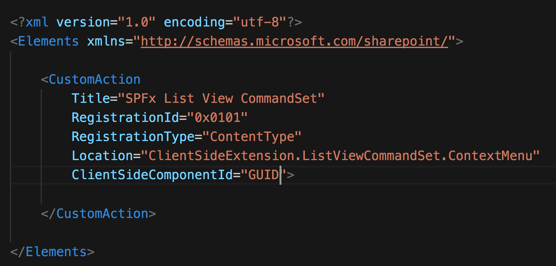 Context menu for document libraries using SPFx extensions · Issue