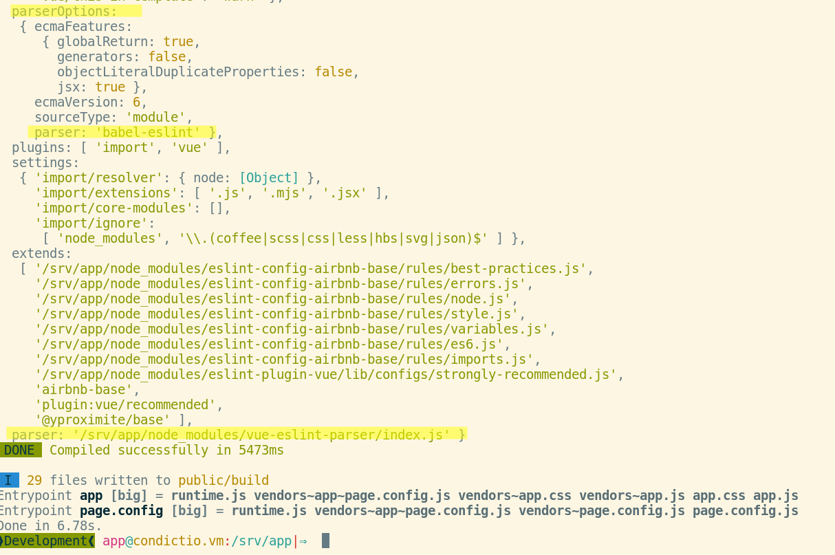 Possible incompatibility with `enableEslintLoader()` and