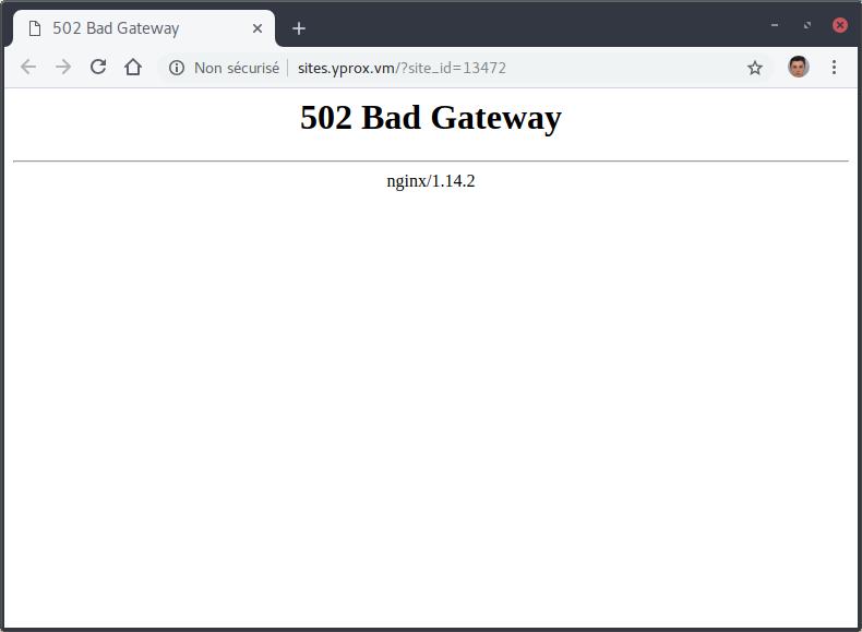 502 bad gateway - google chrome_282