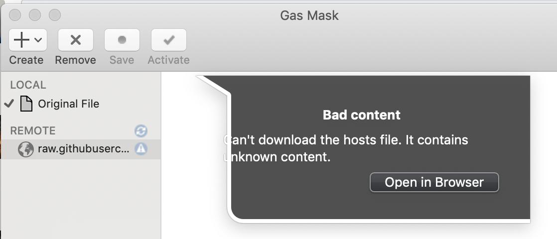 Not working on Mojave · Issue #166 · 2ndalpha/gasmask · GitHub