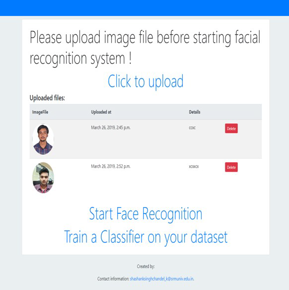 GitHub - shashankch/Facex: Facial Recognition and Tracking