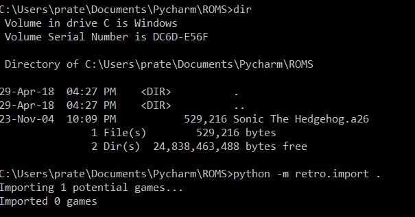 Can't import new ROMs · Issue #36 · openai/retro · GitHub
