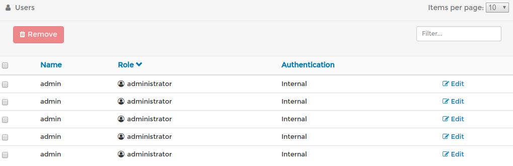 portainer default password