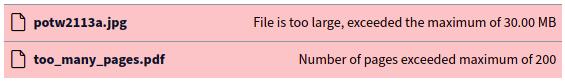 نمایش بهتر ارورهای آپلود در نسخه نهایی BigBlueButton 2.3