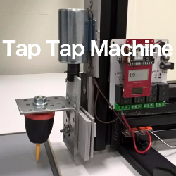 Project Industrial Tap Tap Machine at Hackster.io