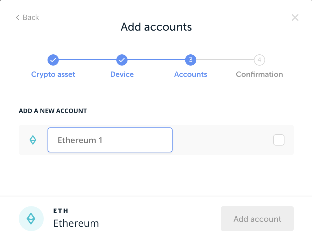 Live doesn't find existing Ether wallets on ledger · Issue #1291