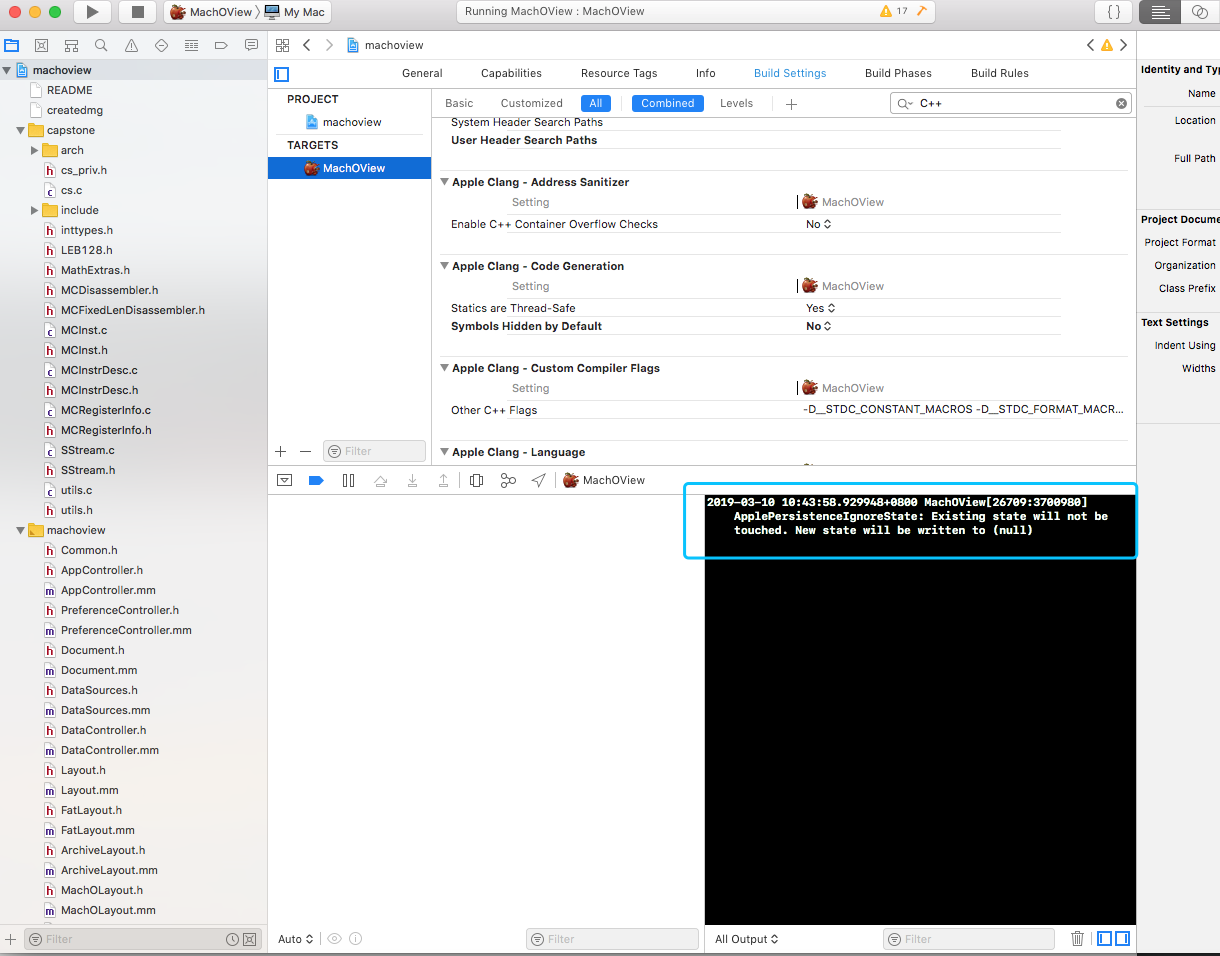 User Header Search Paths Xcode 10