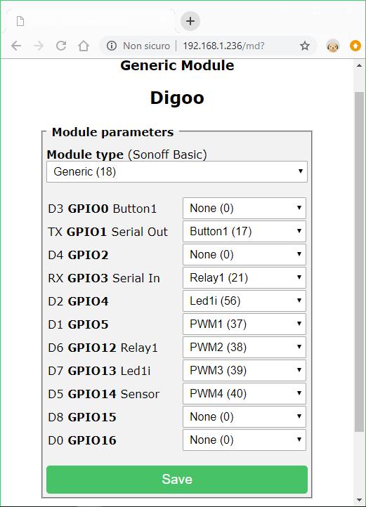 Digoo Firmware