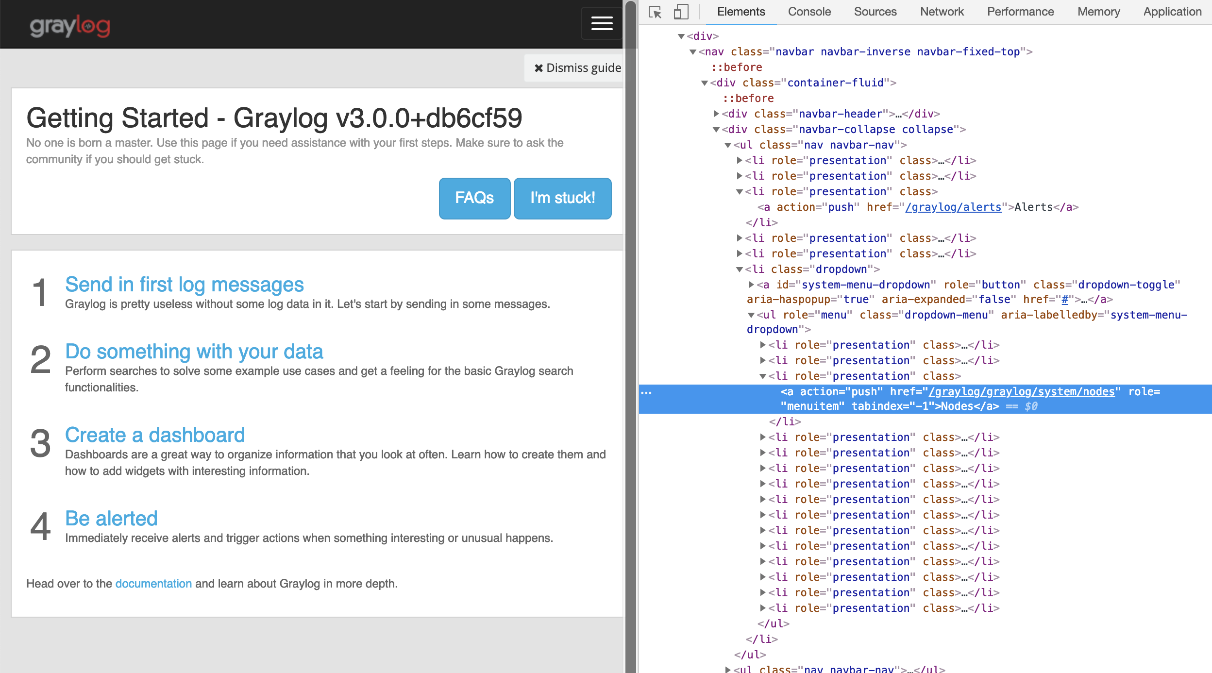 Wrong redirects in graylog web interface and nginx · Issue