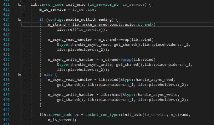 websocketpp\transport\asio\connection hpp(425): error C2672: 'std