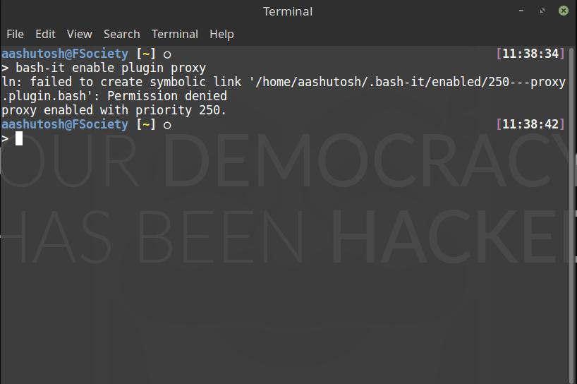 Failed To Create Symbolic Link Issue 1161 Bash Itbash It Github