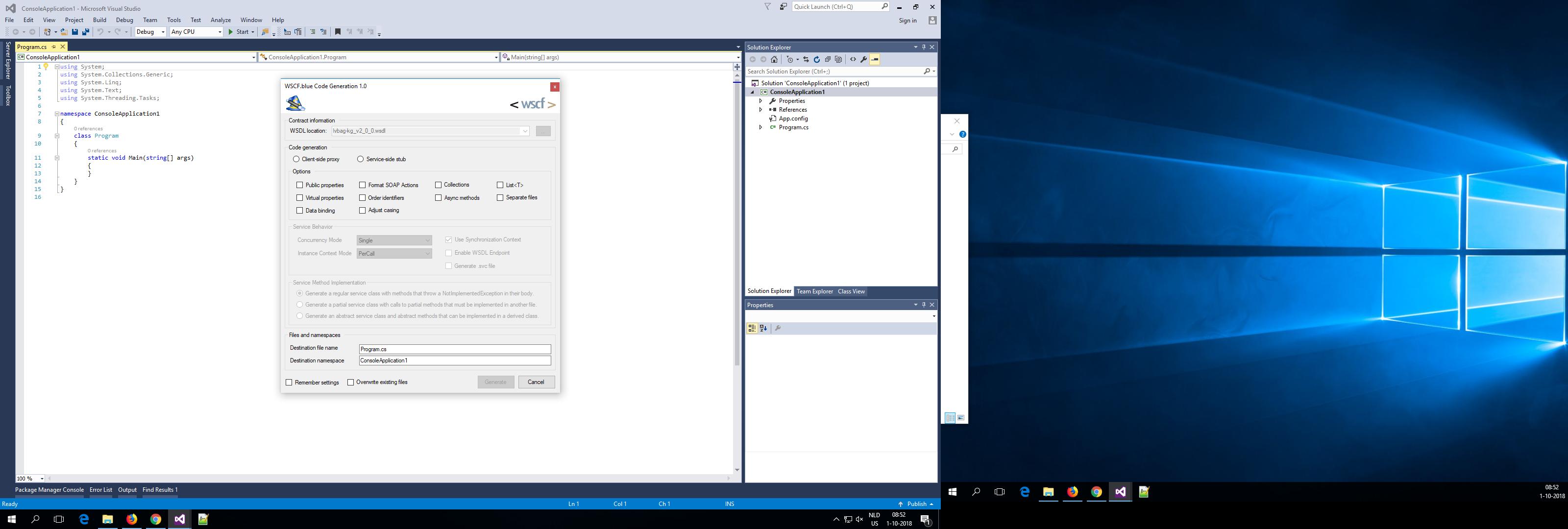 Visual Studio Xsd To Class