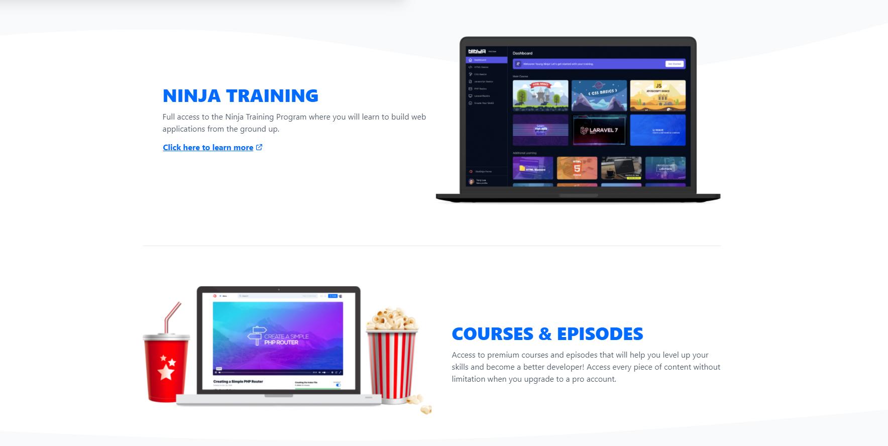 Courses platform SaaS