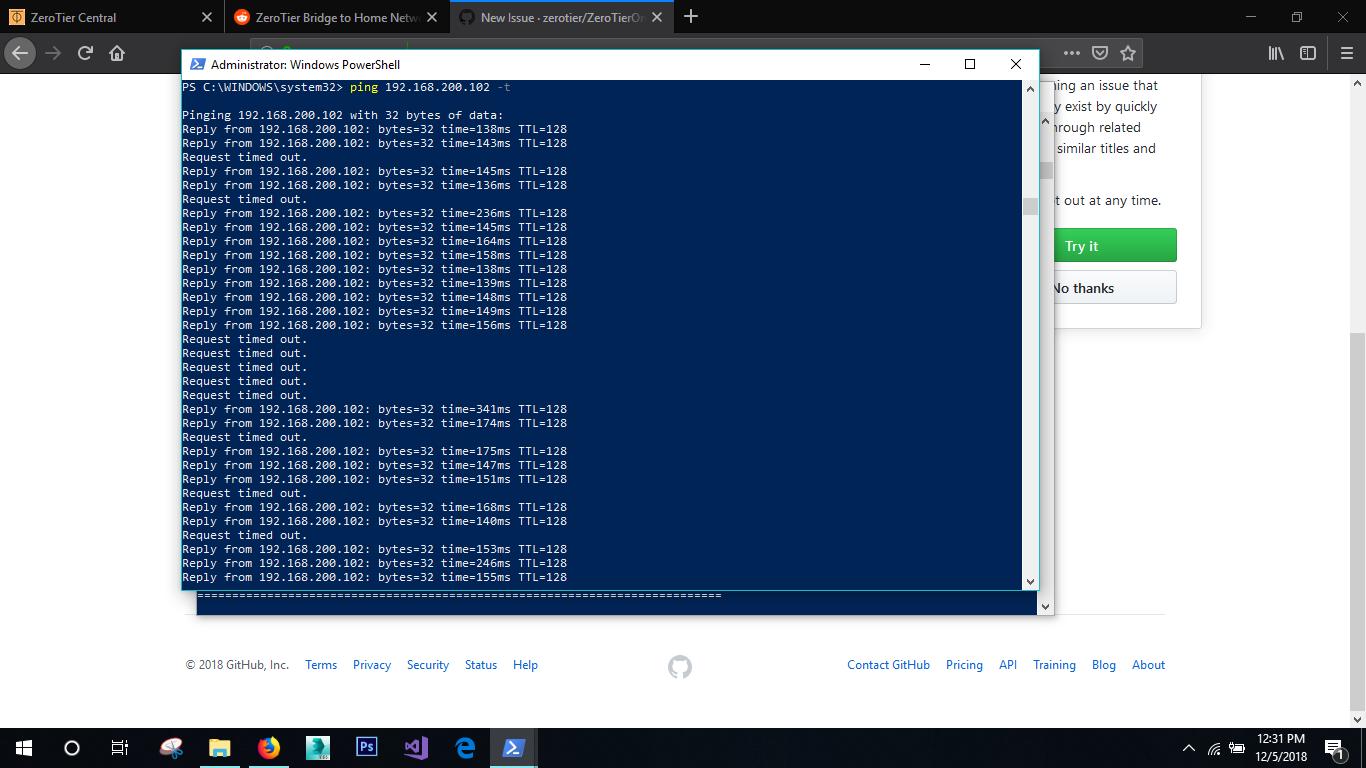Packet loss problem  · Issue #891 · zerotier/ZeroTierOne