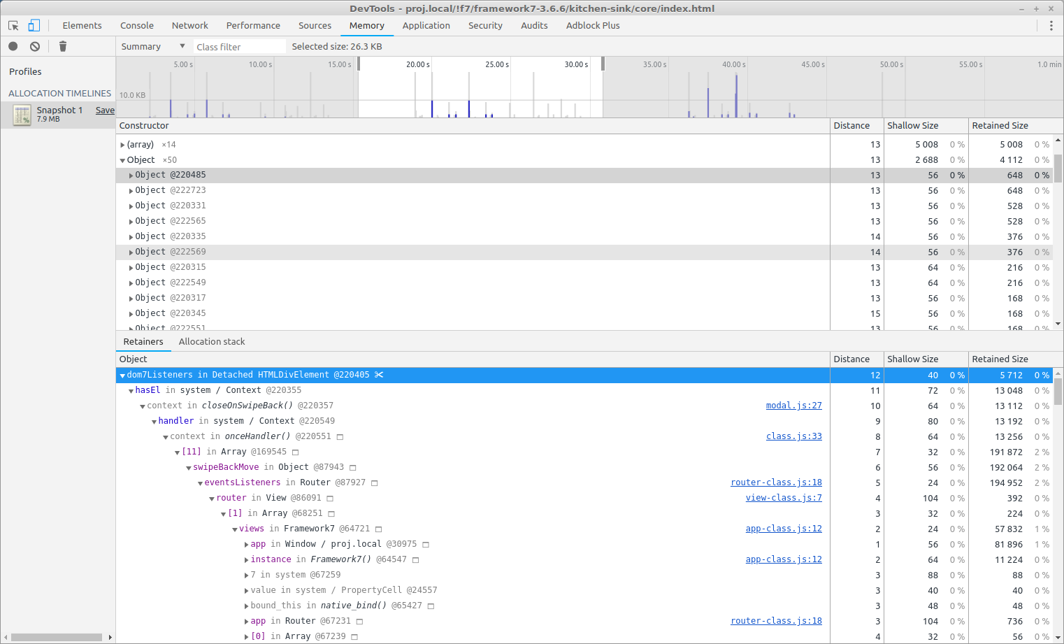 devtools - proj local- f7-framework7-3 6 6-kitchen-sink-core-index html_351