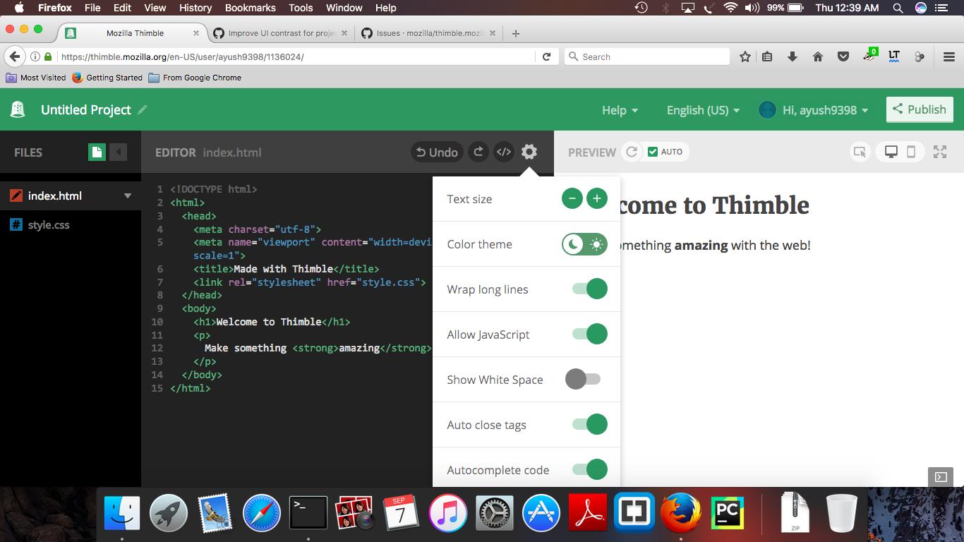 Add scroll in Editor dropdown menu · Issue #2469 · mozilla/thimble