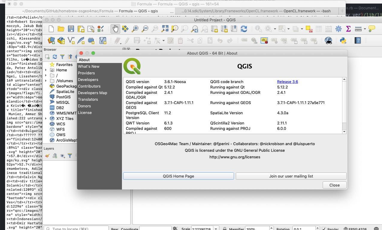 qgis mismatch with proj 6 0 0 · Issue #997 · OSGeo/homebrew