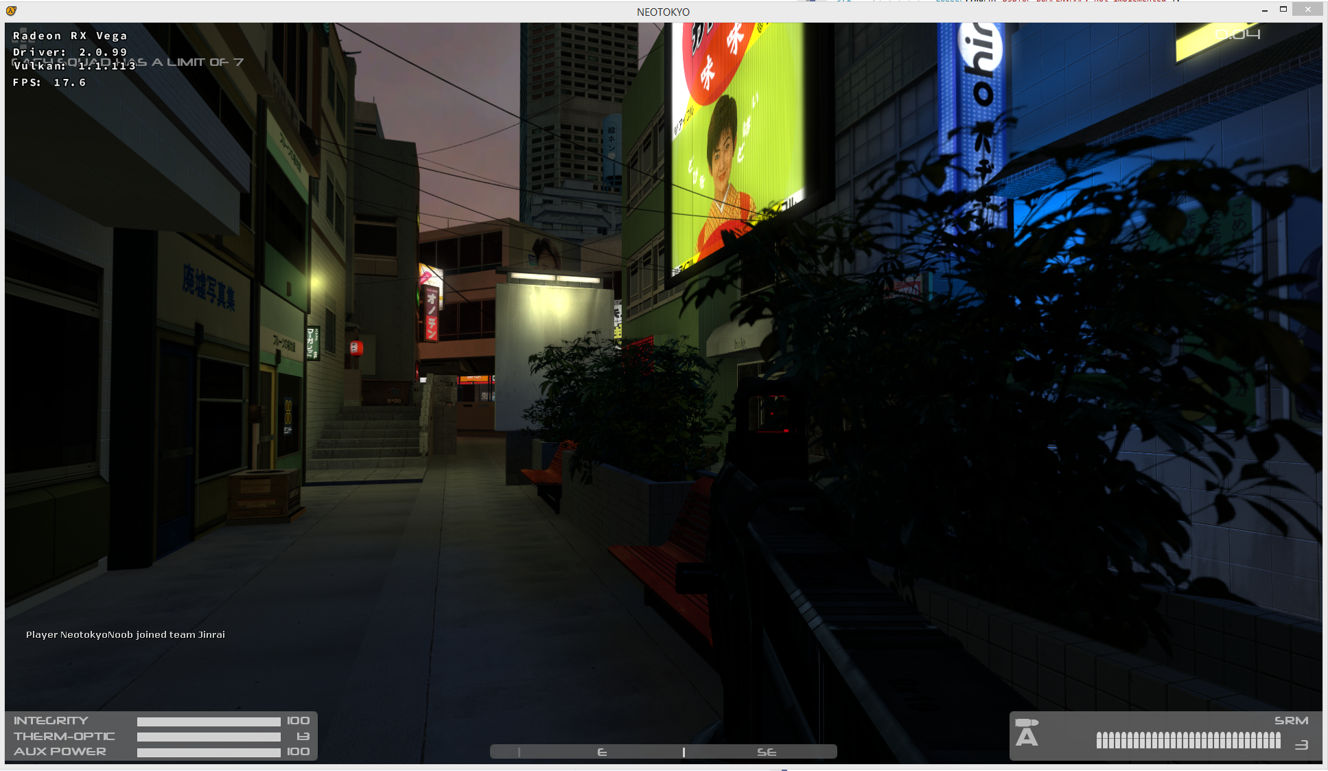 Half Life 2 mod Neotokyo crashes after map load · Issue #301