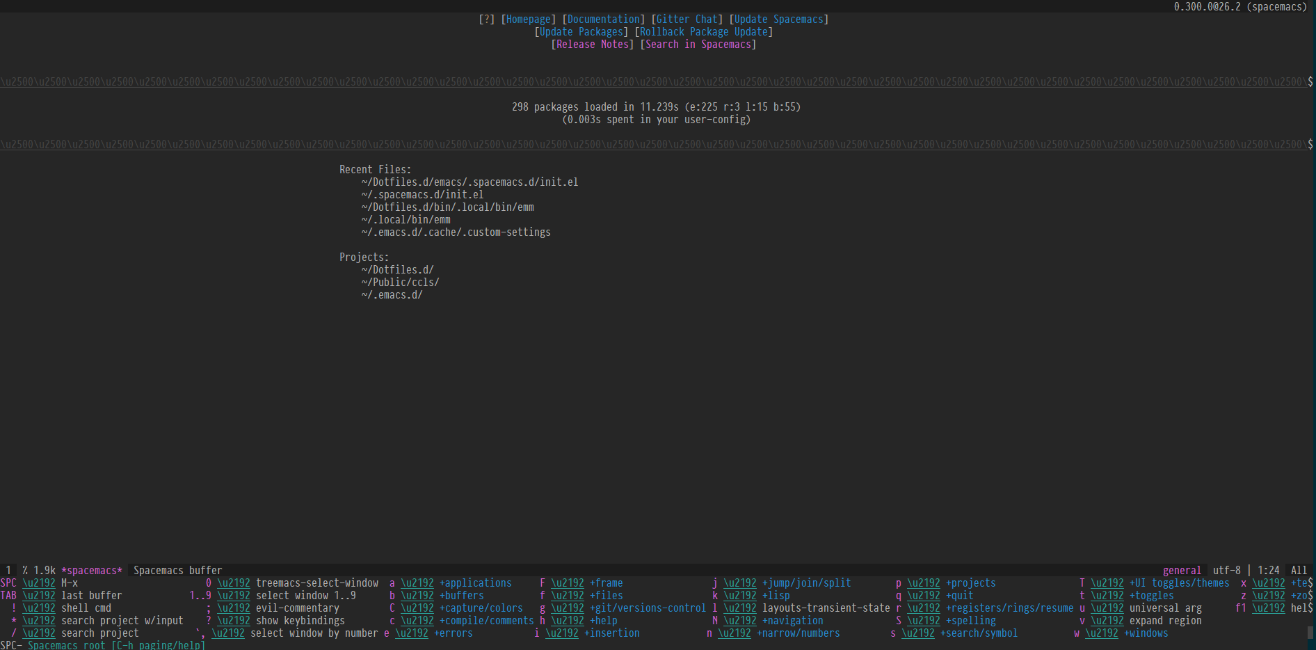 The default theme doesn't work well with tmux+screen-256color