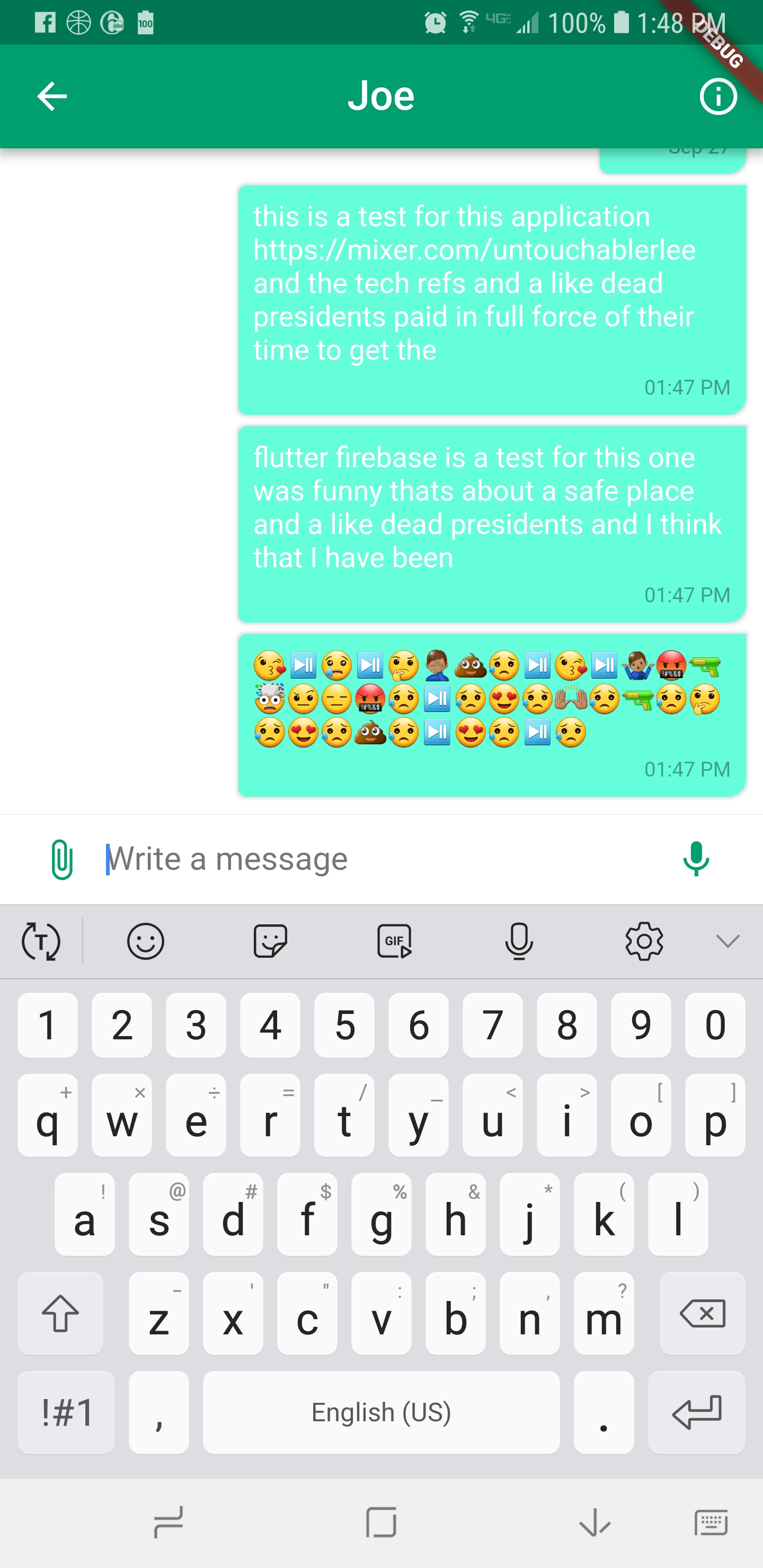 creating chat bubbles in flutter