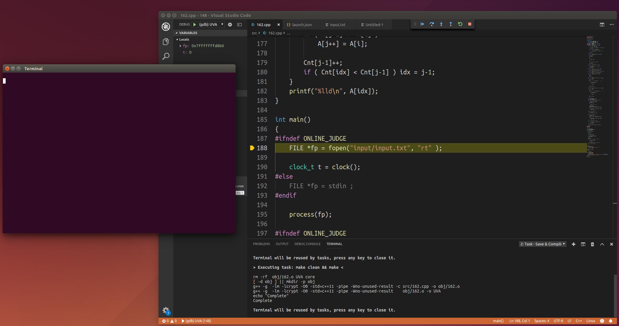 GDB C/C++ debugger won't start, giving error · Issue #64948